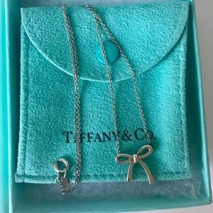 retired Tiffany & Co. bow necklace